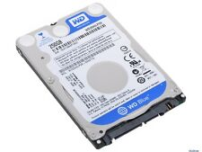 "Western Digital Blue 250 GB 5400 RPM 2.5"" WD2500LPVX Hard Drive HDD Sata III"