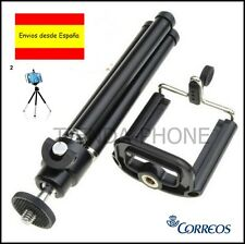 Soporte Trípode Montaje Movil Camara + Adaptador Phone Holder Mount Universal