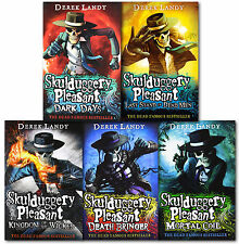 Skulduggery Pleasant Derek Landy 5 Books Set Collection-Book 4 to 8,Last Stand o