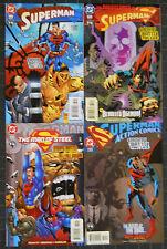 SUPERMAN 8 PART STORY ENDING BATTLE COMP. NM GEOFF JOHNS,VILLAINS GALORE!!