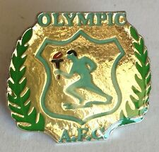 Olympic AFC Games Torch Relay Pin Badge Rare Vintage (F1)