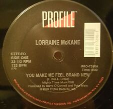 "Lorraine McKane - You Make Me Feel Brand New 12"" 33RPM Vinyl Record PRO-7290"