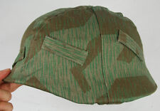 WWII GERMAN SPLINTER CAMO M35 REVERSIBLE HELMET COVER -33102