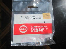 Vintage Cox Glow Head For .020 Tee Dee Pee Wee Airplane Engines Cat. 1032  NOS
