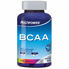 BCAA MULTIPOWER AMINOACIDI RAMIFICATI 110CP IRRIPETIBILE!