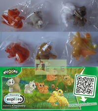 Set NATOONS animals 2, kinder surprise Europe,  2014/15