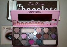 Too Faced CHOCOLATE BON BONS eye shadow palette collection NEW valentine's FREE