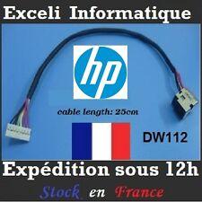 Connecteur dc jack cable dw112 HP DV8-1000EB DV8-1010ER DV8-1080EA DV8-1090EZ