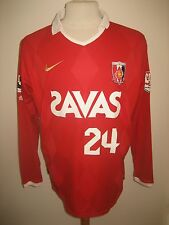 Urawa Red Diamonds MATCH WORN Japan rare football shirt soccer jersey size XL