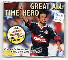 Friends Of Lothar Matthäus feat. Uwe Ochsenknecht Maxi-CD Great All Time Hero