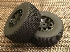 TEAM ASSOCIATED SC10 SC10.2 SC10GT KMC REAR WHEELS & TIRES 12MM 91101  1:10