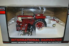1/16 International Harvester 504 tractor w/ cultivator New in Box by Spec Cast