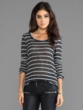 NWT~Whetherly~Braided Sweater~Long Sleeve~Charcoal~L~$138  **Current Season**