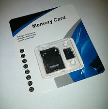 32GB Micro SD SDHC Memory Card TF Flash microSD Class 10 FREE SD Adapter Retail