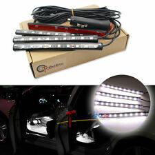 White LED Car Interior Under Dash Foot  Lighting Kit | LED Accent Light, 4 x 6""