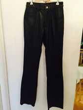 WILSONS LEATHER Women's 100% Leather Pants 4 Pocket Bootcut NWT Size 2
