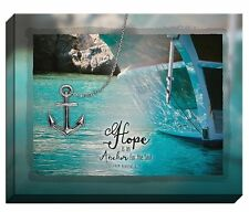 "HOPE Is An Anchor For The Soul Mounted Canvas Art, 20"" x 16"", by Carpentree"