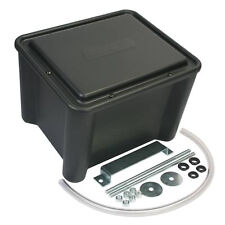 Moroso 74051 Sealed Vented Battery Box Kit Black