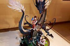 Unpainted Azure Dragon, resin model kit