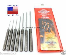 Grace USA 7pc Gunsmith Gun Care Roll Spring Pin Punch Set MADE IN USA Machinist