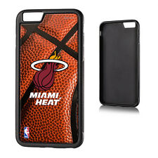 For iPhone 6+ Plus / 6S+ Plus HARD RUBBER GUMMY CASE COVER MIAMI HEAT BASKETBALL