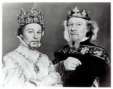 """1979 Vintage Photo actor Derek Jacobi & John Gielgud star in """"Richard II"""" play"""