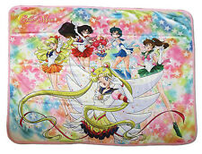 *NEW* Sailor Moon S: Eternal Sailor Moon Group Sublimation Throw Blanket