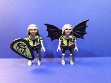 PLAYMOBIL 2 DRAGON WARRIOR KNIGHTS, Incomplete, Boys Mystery Series 1, #11