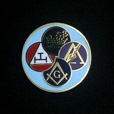 Masonic York Rite Lapel Pin (YR-1)