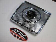 61 62 63 64 IMPALA NEW CHROME REAR SEAT SPEAKER GRILL
