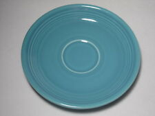 """VINTAGE OLD 1937 TURQUOISE FIESTA FIESTAWARE 6"""" SAUCER CUP PLATE HOMER LAUGHLIN"""