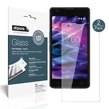 2x Medion Life E5020 Schutzfolie - Folie Glasfolie 9H  dipos Glass Displayfolie