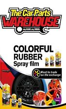 "Matt Black Rubber Aerosol Paint Wrap "" plastic dip "" (Spray on, Peel Off)"