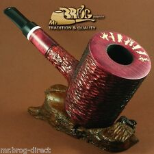 "OUTSTANDING BIG & HEAVY Mr.Brog original smoking pipe "" LUMBERJACK "" Rubin"