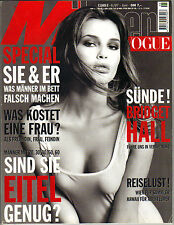 BRIDGET HALL German Manner Vogue Magazine 6/97 SUNDE!