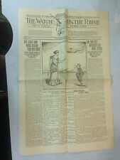 April 11 1919 The Watch on The Rhine Newspaper Vol 1, No. 7
