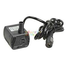 DC 12V 3W Aquarium Fish Tank Pump Submersible Micro Brushless Water Pump Black