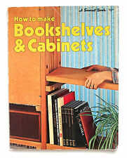 Vintage Sunset Book on How to Make Bookshelves and Cabinets Furniture Making