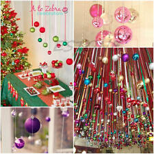 Christmas Tree Decorations Xmas Multi-color Balls Baubles Party Wedding Ornament