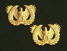 US ARMY WARRANT OFFICER COLLAR BRANCH INSIGNIA; PAIR