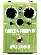NEW WAY HUGE WHE-207 MkIV GREEN RHINO OVERDRIVE PEDAL w/ FREE CABLE 0$ US S&H