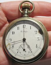 Vintage Chronograph Pocket Watch The Marlboro in Glassback Case