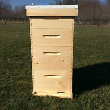 10 frame Complete Beehive 2 Deep Brood Boxes,  2 Medium Honey Supers