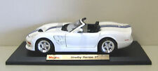 1999 Shelby Series 1 Diecast Model Car - White - Maisto - 1:18 Scale
