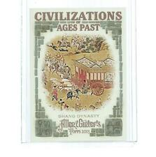 2013 TOPPS ALLEN & GINTER CIVILIZATIONS OF AGES PAST SHANG DYNASTY #CAP-SD