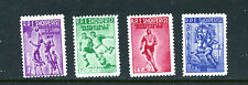 ALBANIA 544-47 (4), 1959 SPARTACUS GAMES, MNH (ID0873)