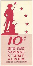 U.S. Savings Stamp Album 10 Cents 1964 No Stamps