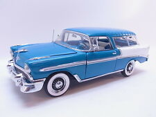 LOT 38957 Franklin Mint 1:24 Chevrolet Nomad Station Wagon 1956 Modellauto neuw.