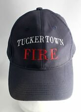 Tuckertown Fire - Embroidered Blue Ball Cap Hat Adjustable Size - Rhode Island
