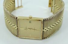 WOW HEAVY 18K SOLID GOLD JUVENIA AUTOMATIC BOLD WRIST WATCH B2398